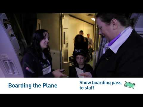 I CAN Fly with YVR- Boarding the Plane