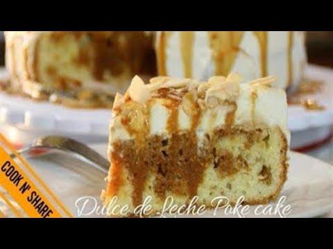 Dulce de Leche Poke Cake