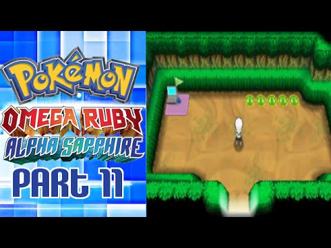 Pokemon Omega Ruby & Alpha Sapphire Playthrough Part 11 - Secret Base