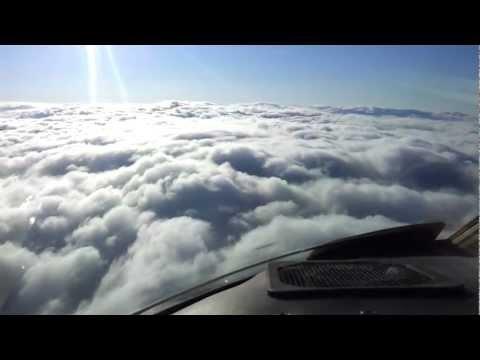 c560xls cockpit pilots eye view landing Belfast city airport