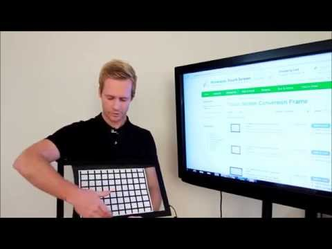 Cheap and easy way to convert any TV into touch screen monitor