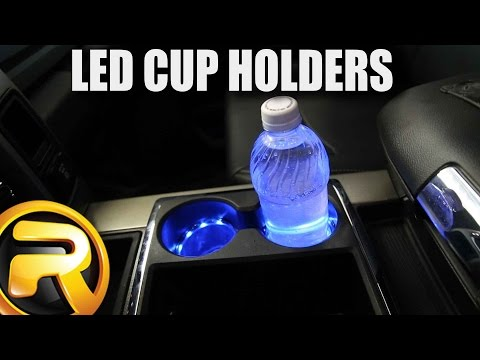 How to Install Plasmaglow LED Cup Holder Lights