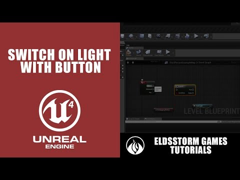 6  Unreal Engine 4 - Switch On Light Using Button - PakVim