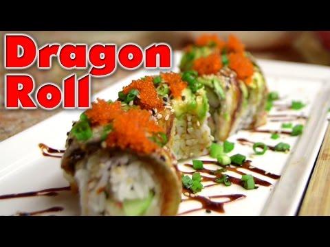 Sushi | Dragon Roll Special | Tutorial