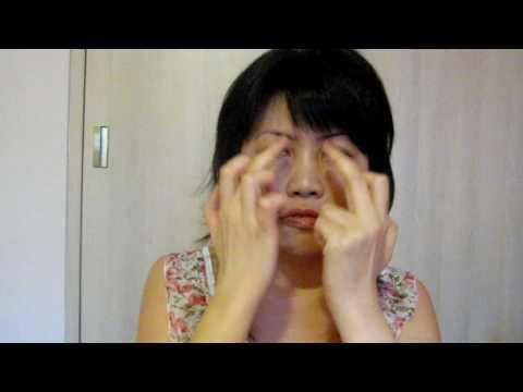 6-Point Eye Circulation Massage For Dark Eye Circles