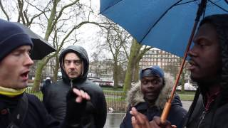 SA RA vs Atheist | Are Europeans Psychologically Different From Africans & Asians? Speakers Corner?