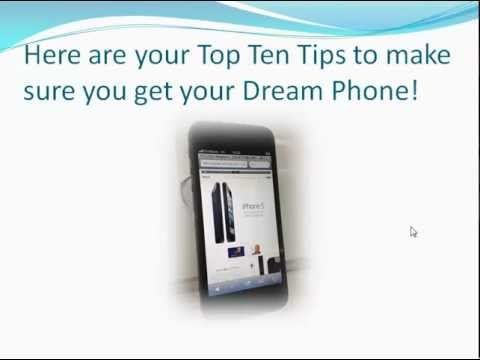 10 Free Tips - How To Buy The Best New Cell Phones!