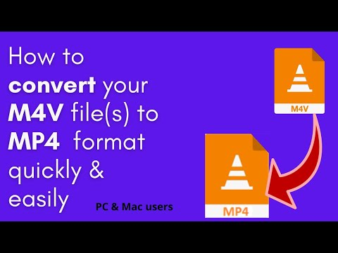 How to Convert M4V to MP4