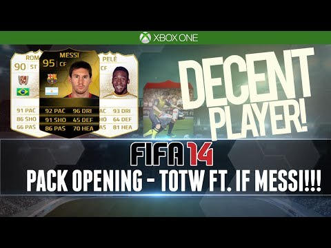 FIFA 14 | HUNT FOR IF MESSI + UPGRADES | DECENT PULL! (Pack Opening)