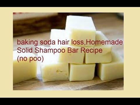 baking soda for hair loss,Homemade Solid Shampoo Bar Recipe(no poo)