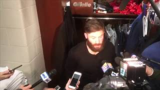 """Julian Edelman after playoff win over Texans: """"An ugly win is better than a pretty loss"""""""