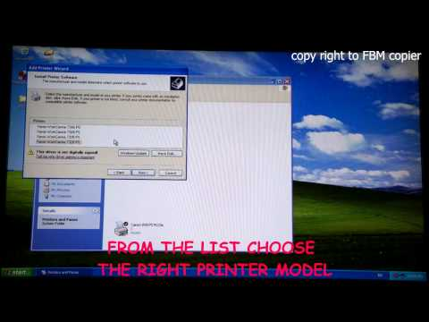 How to Install Xerox Workcentre 7328 - 7346 Driver on Windows XP