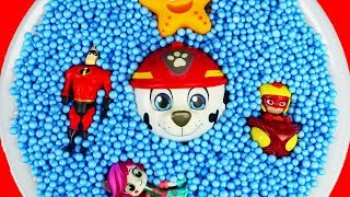 Learn Characters with Pj Masks, Lady Bug, The Incredibles, Minions and Paw Patrol Education For Kids