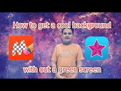 How to get a cool background without a green screen iPhone