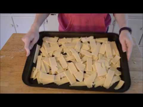 Making Gluten free Pasta by hand