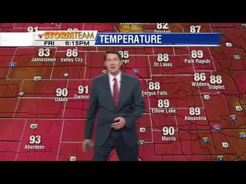 Weather 600pm May 25th, 2018