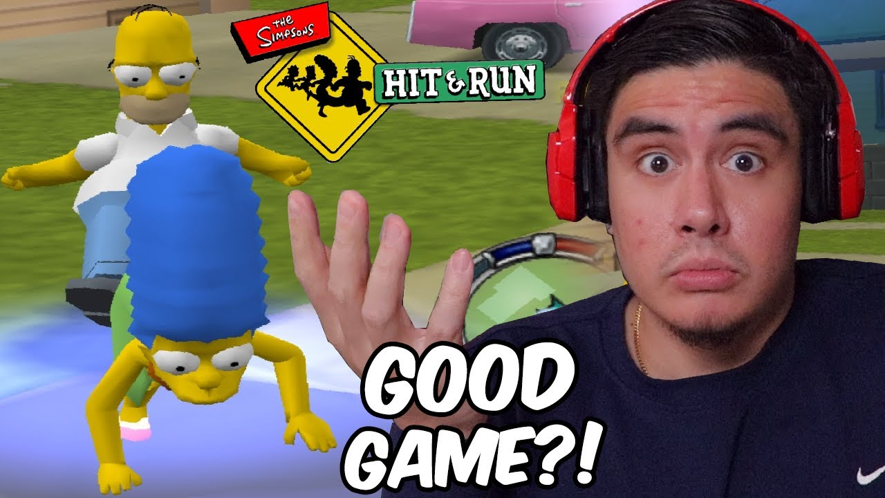 TRYING TO FIGURE OUT WHY PEOPLE LOVE THIS GAME SO MUCH | Simpsons Hit & Run