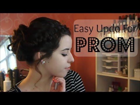 Easy Prom Updo
