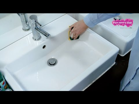 Simple advice on getting your bathroom clean | Supersavvyme