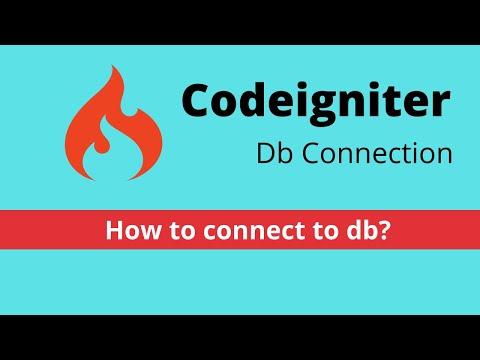 Understand database.php in codeigniter