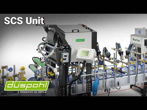 Kleberauftragseinheit mit Vorschmelzer SCS by düspohl Maschinenbau GmbH