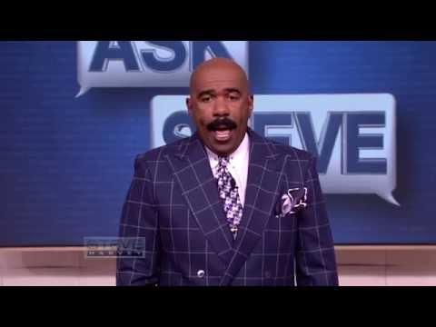 Ask Steve: My feet smell BAD — like an old man's foot! || STEVE HARVEY