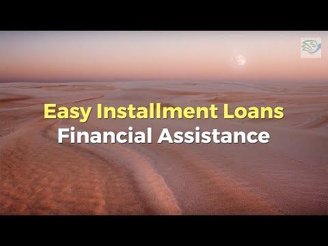 Easy Installment Loans Financial Assistance