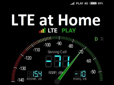 LTE 4G at home - How to find good signal, where to put a router, RSRP, RSRQ, ASU, RSSNR