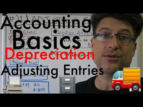 Accounting for Beginners #31 / Adjusting Entries / Journal Entries / Depreciation Expense