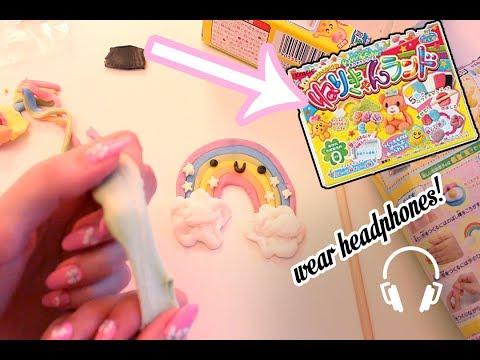 Let's Make Neri Candy Land! Popin Cookin Binaural ASMR (ear to ear softly spoken)
