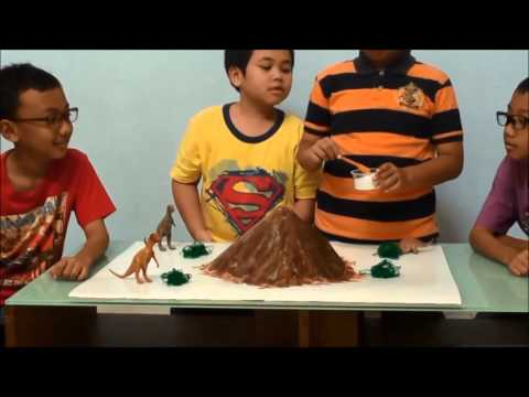 HOW TO MAKE A GREAT VOLCANO ERUPT By DAMAR & FRIENDS