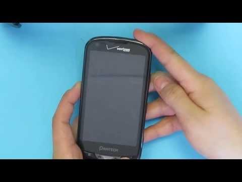 Hard Reset Pantech Breakout ADR8995 Verizon