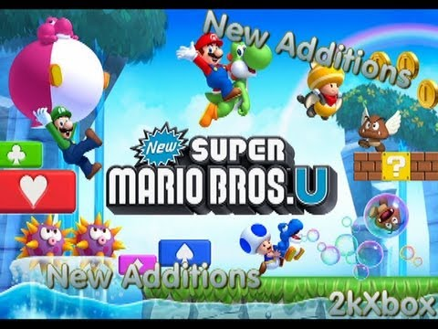 New Super Mario Bros.U: New Additions