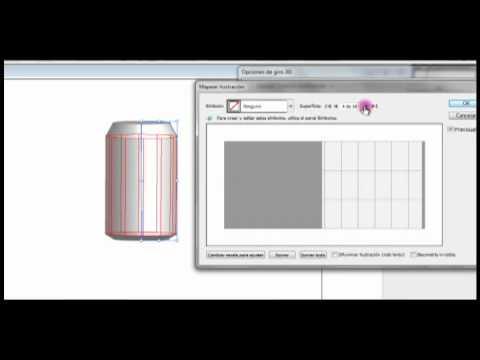 Video Tutorial de Adobe Illustrator CS3. Vinculacion de Símbolo.