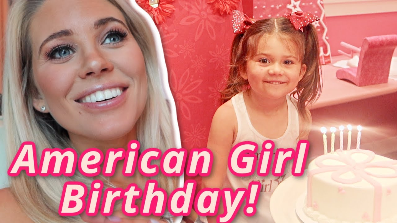 THE BEST 5TH AMERICAN GIRL DOLL BIRTHDAY PARTY EVER! Aaryn Williams | Houston Memorial City