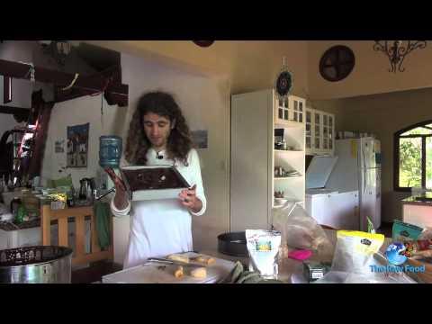 Raw Food Recipe - Raw Pili Chocolate Covered Bananas