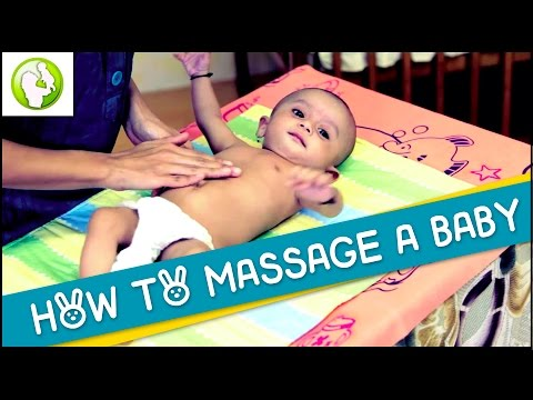 How To Massage A Baby