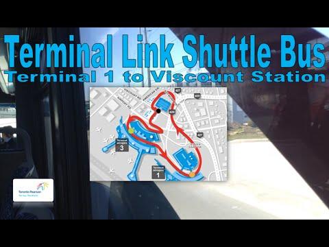 Terminal Link Shuttle Bus - GTAA 2011 Nova Bus LFS 85-1229 (Terminal 1 to Viscount Station)