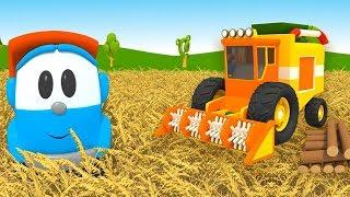 Cartoni animati: Camioncino Leo Junior e i lavori in campagna Compilation 15 minuti