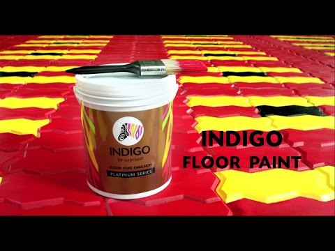 Indigo Floor Coat Paint - Jealous Neighbours (Hindi)