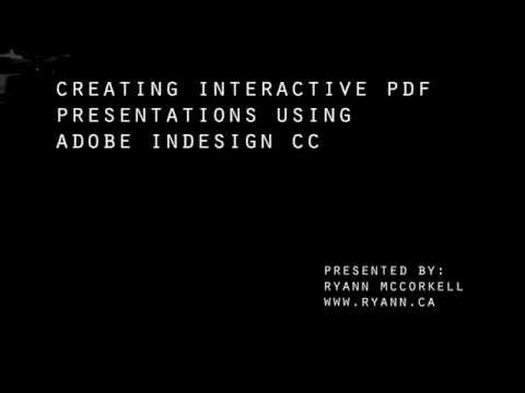 Create an Interactive PDF Presentation with InDesign