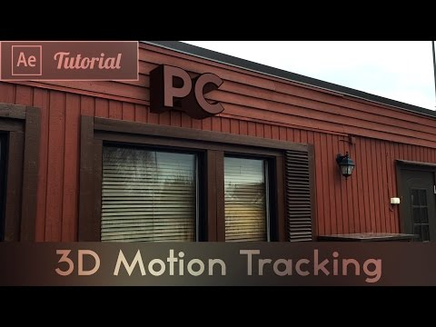 3D Motion Tracking - After Effects CC Tutorial
