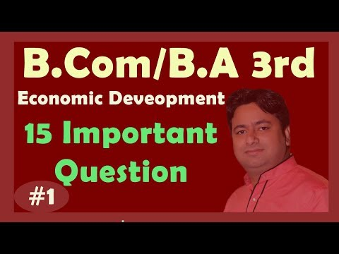ECONOMICS IMPORTANT QUESTIONS  FOR B.Com and B.A 3rd Year | Economics SOL DU Students 3rd Year