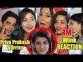 Celebrities Reaction On Priya Prakash Varrier Viral Wink Oru Adaar Love