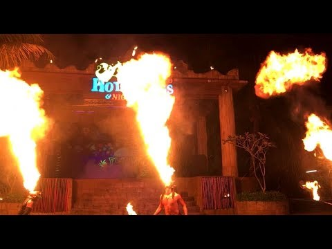 Lost World of Tambun | Fire Show 2018 | Flaming Percussion | Fire Eater