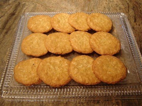 Coconut Cookies Crisp & Chewy Diane Lovetobake