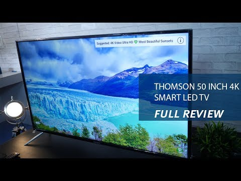 Thomson 50 inch 4K Smart LED TV - Review, Specs and Price