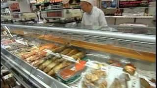 Download Saul Zabar's tour of Zabar's Smoked Fish Video