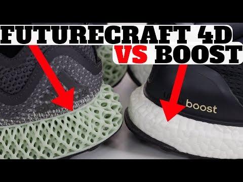 Adidas FutureCraft 4D vs Boost Technology