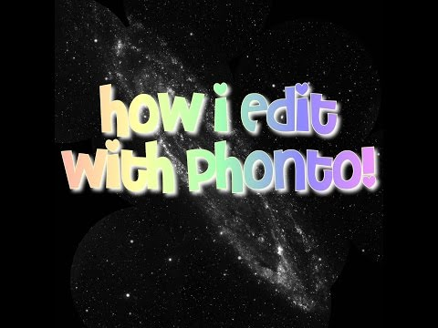 How to edit my photos with phonto! And how to make your own logo!